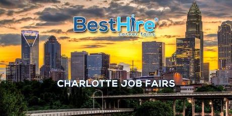 Charlotte Job Fair August 8, 2019 - Hiring Events & Career Fairs in Charlotte, NC  tickets
