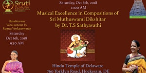 Balabhavam and A Lecture Demonstration by Dr T.S...