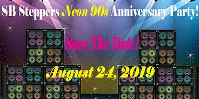 SB Steppers Neon 90's Anniversary Party