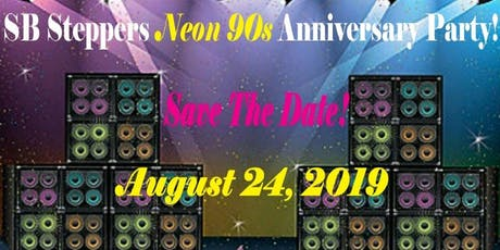 SB Steppers Neon 90's Anniversary Party tickets