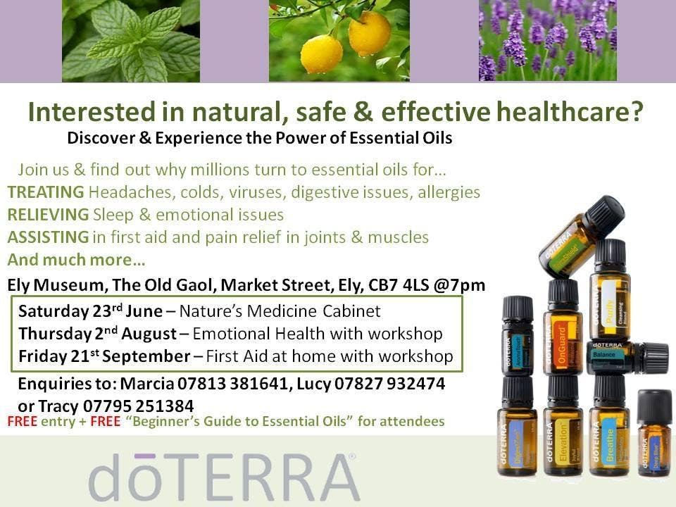 DoTERRA - Essential Oils For First Aid