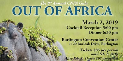 Out of Africa Gala 2019