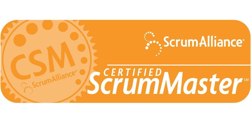 Certified Scrummaster Training Csm Training 15 16 November 2018