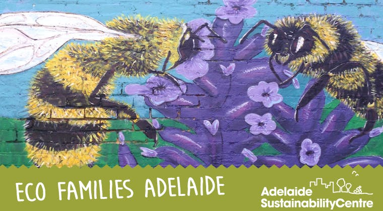 Eco Families Adelaide: Bee art and craft