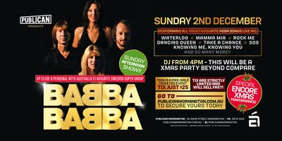 BABBA XMAS PERFORMANCE!