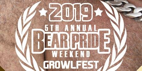 Growlfest 2019: 5th Annual Bear Pride Weekend tickets