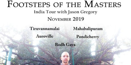 Footsteps of the Masters India Tour 2019 with Jason Gregory tickets