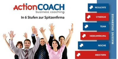 Mit actionCOACH in 6 Stufen zum erfolgreichen Unternehmen (Webinar)