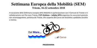 22 settembre - Settimana Europea della Mobilità (SEM)