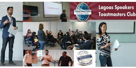 Lagoas Speakers Toastmasters Session tickets