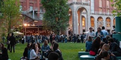 Milan Fashion Week – Giardino della Triennale Cocktail Party con Dj set – 21 Settembre