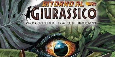 """Riapertura Mostra  """"Ritorno al Giurassico. Può contenere tracce di dinosauri"""""""