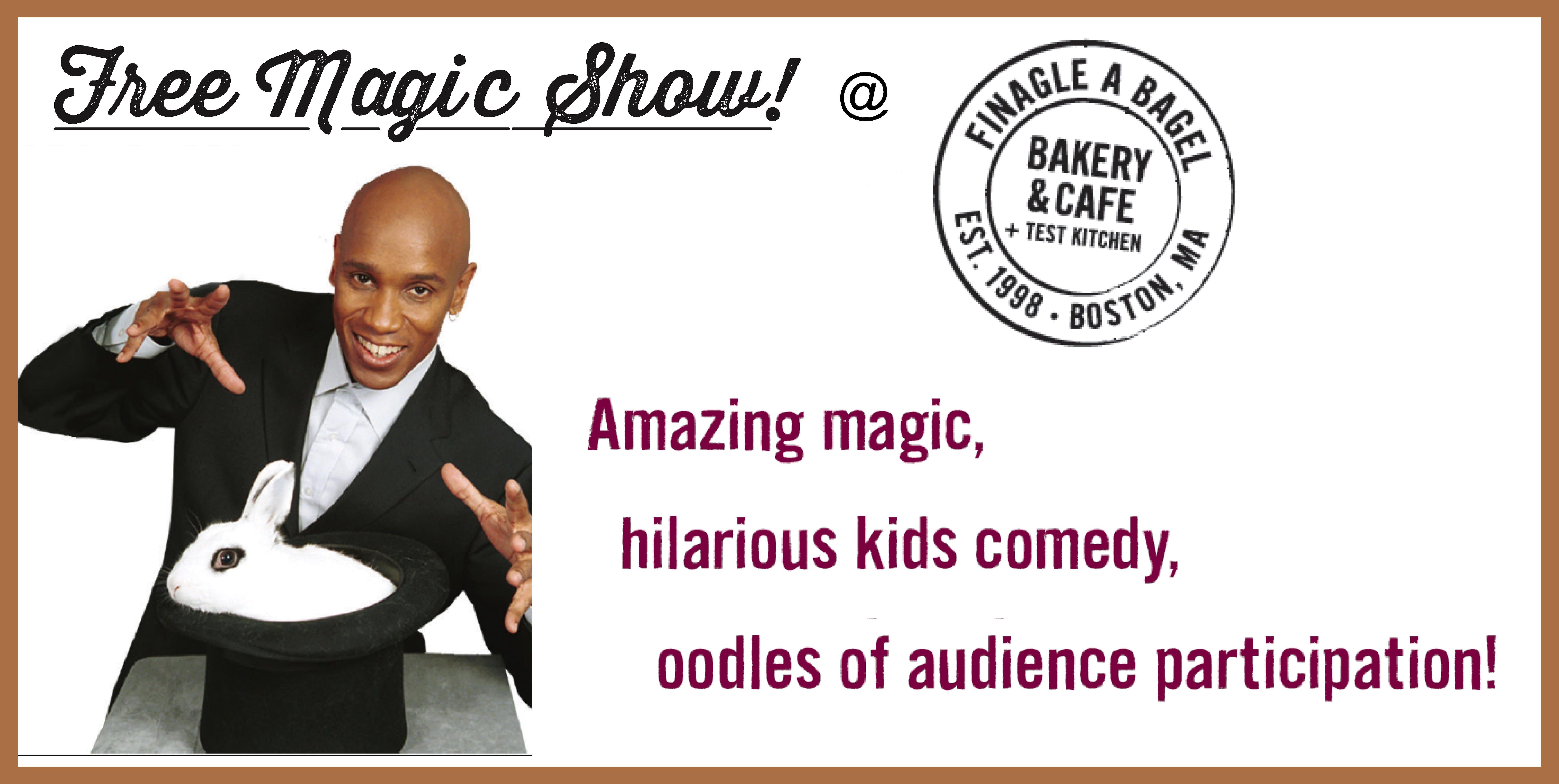 Magic Family Fun Day at Finagle A Bagel