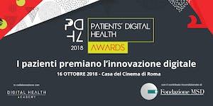 Patients' Digital Health Awards 2018 - Evento di...