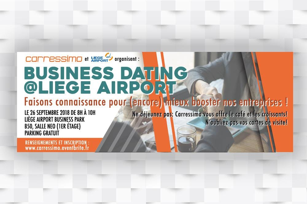 Business Dating @Liège Airport by Carressimo