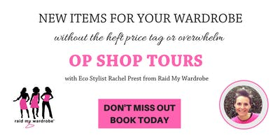 Newcastle Op Shop Tour with Raid My Wardrobe