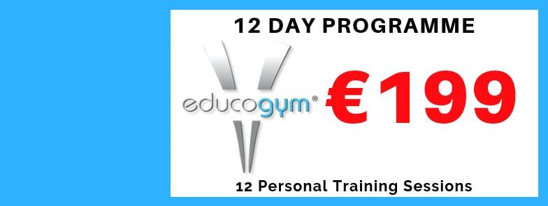 12 Day Programme - €199 - Penrose Wharf