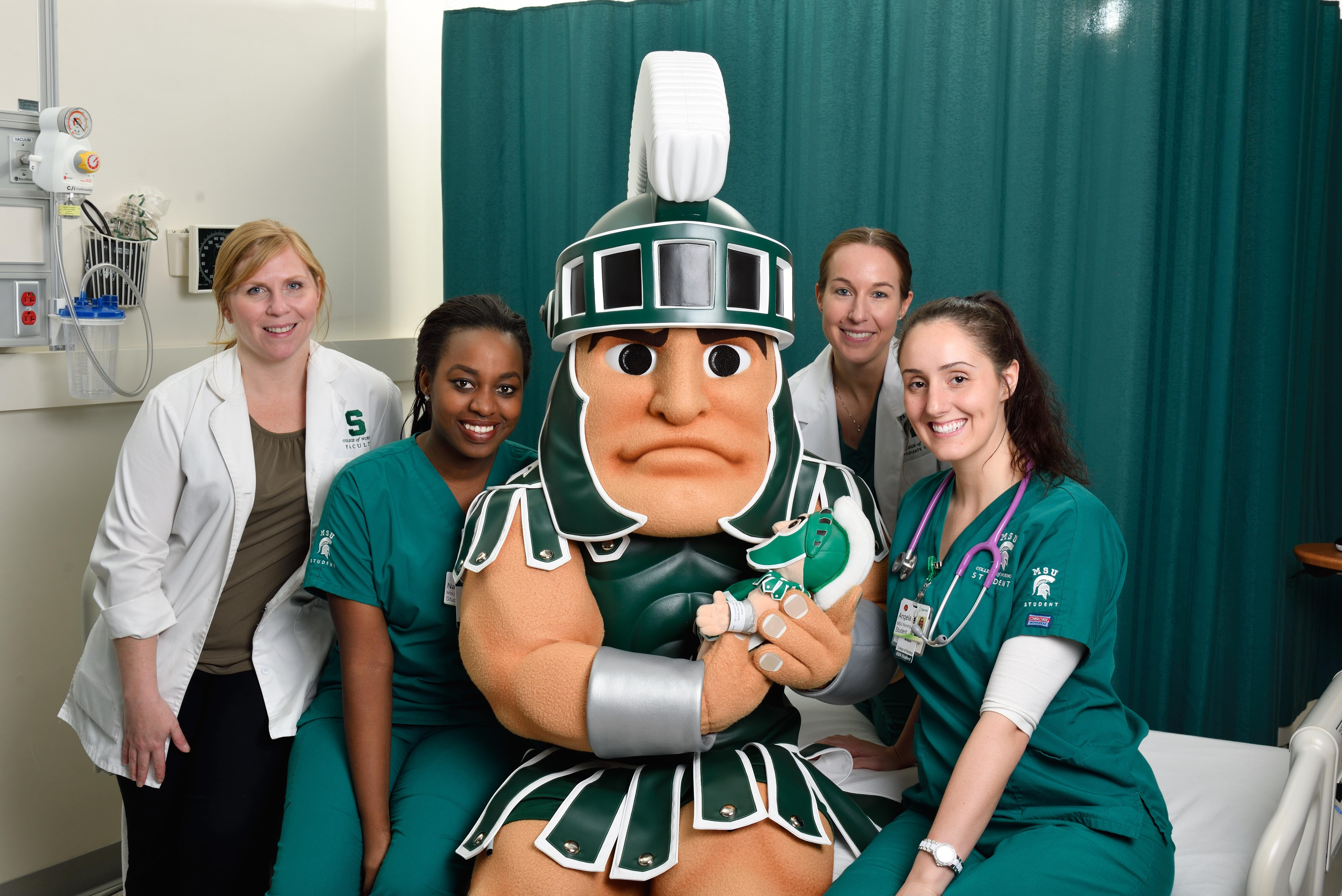 Msu Student Info >> Bott Building For Nursing Education And Research Msu