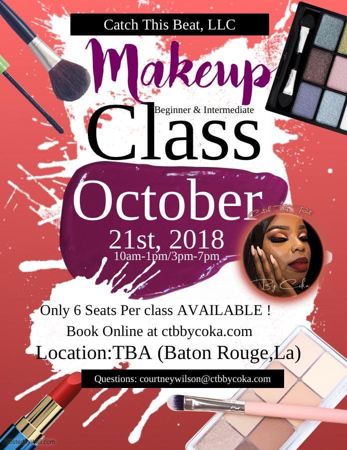 Catch This Beat Makeup Cl 21 Oct