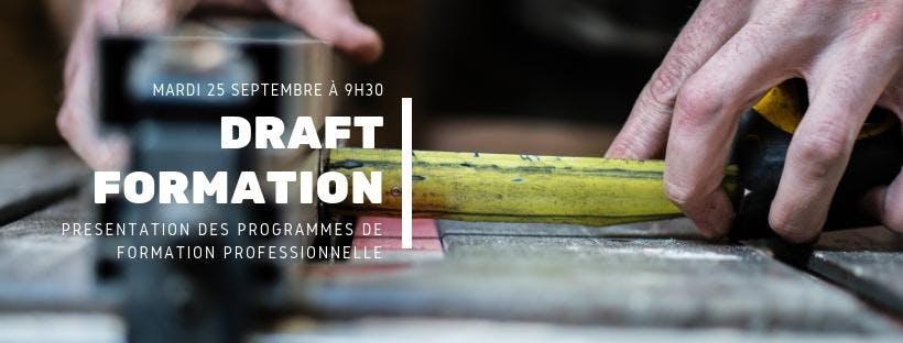 DRAFT - Lancement des programmes de Formation