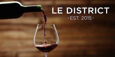Wine Tasting at Le District - Dessert & Rose