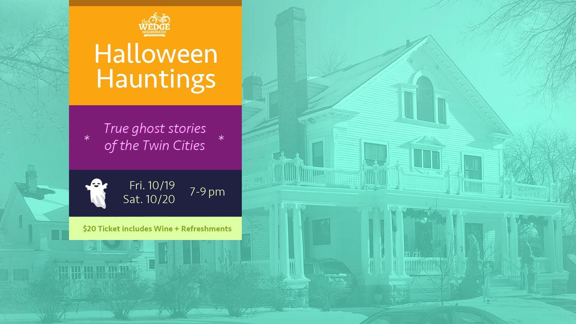 Halloween Hauntings: Wine and True Ghost Stor