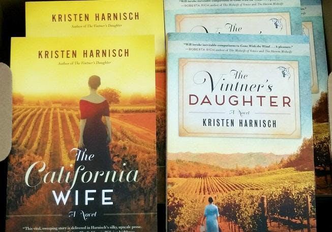 Kristen Harnisch Book Signing & Wine Tasting