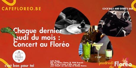 Jeudredi live du Floréo tickets