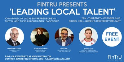 FinTrU Presents 'Leading Local Talent'