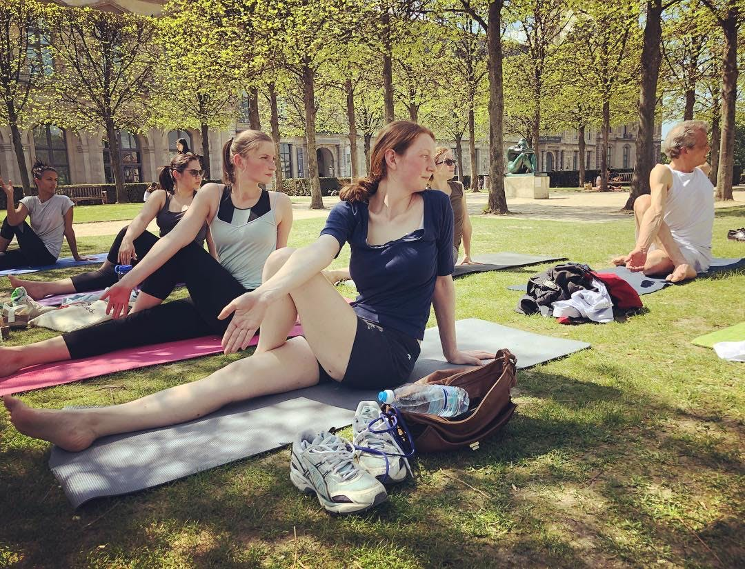 Yoga Flow in the Tuileries with Gillian - 60