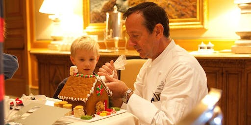 Children's Gingerbread House Decorating