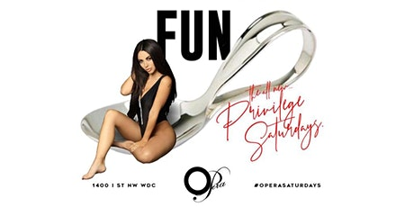 "OPERA SATURDAYS Presents ""PRIVILEGE""  tickets"