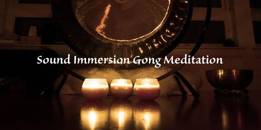 2nd. Sunday ~ Gongs & Singing Bowls Yoga Immersion