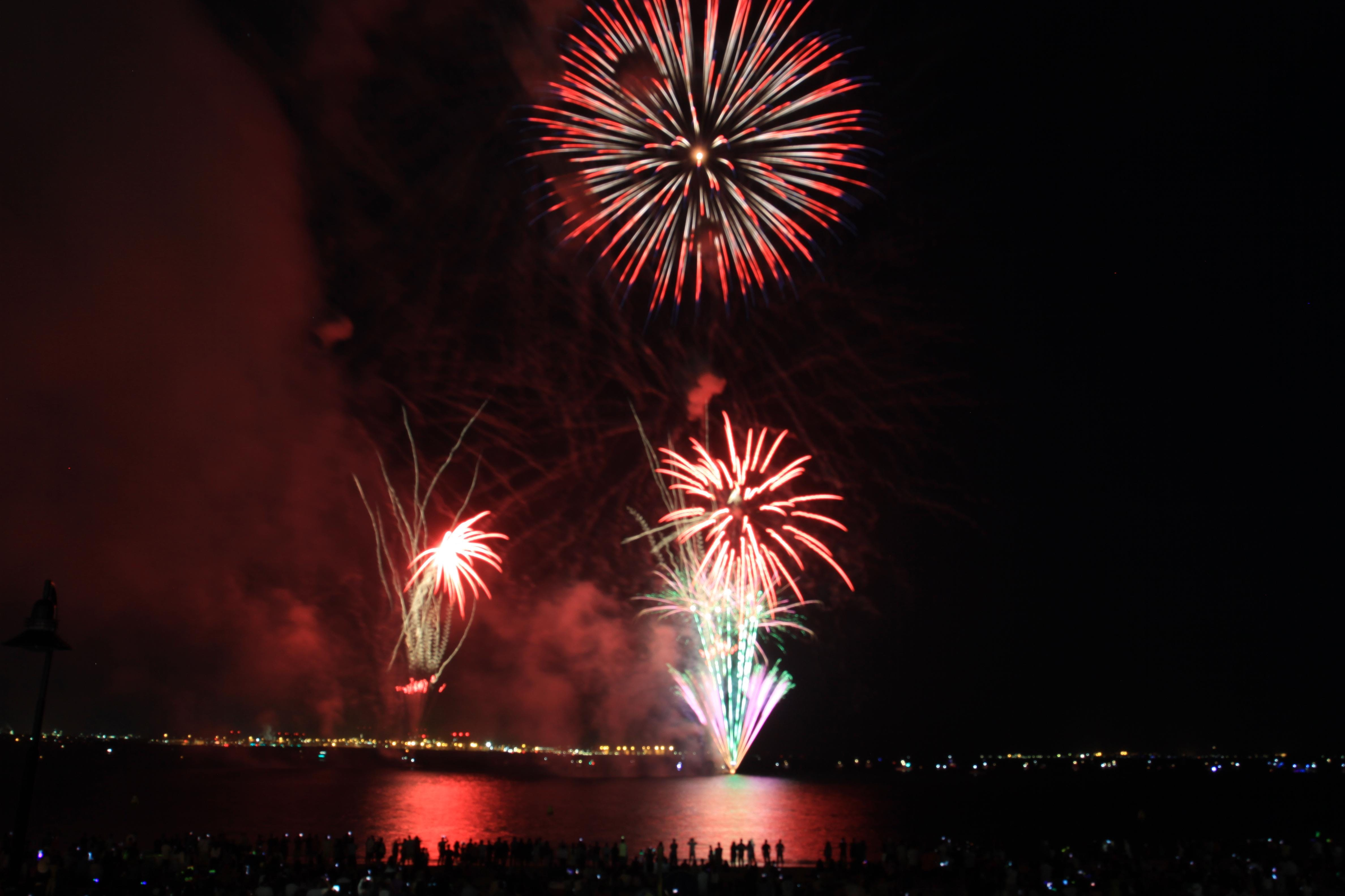 new year's eve family fireworks - 31 dec 2018