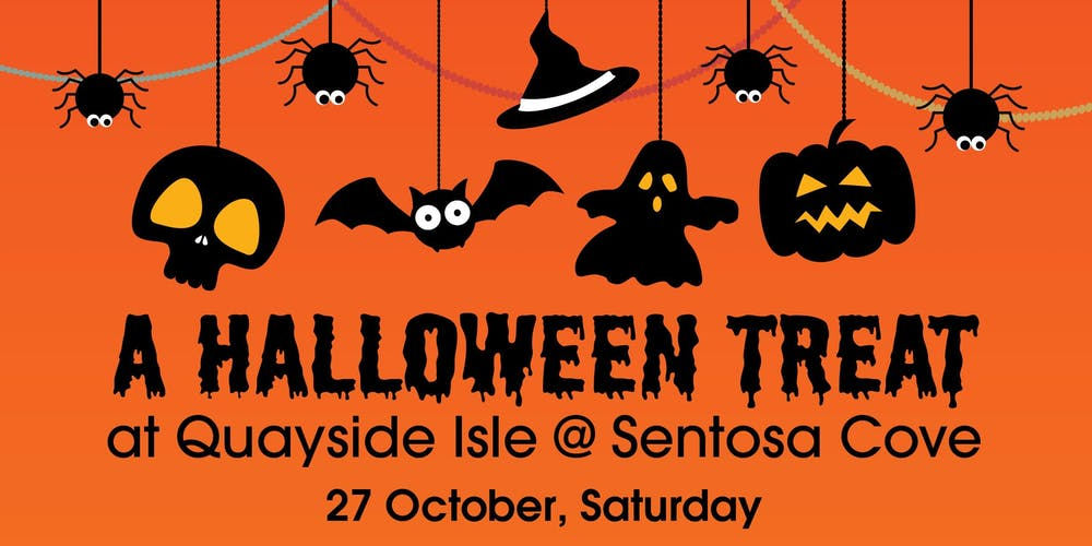 Image result for A Halloween Treat at Quayside Isle @ Sentosa Cove