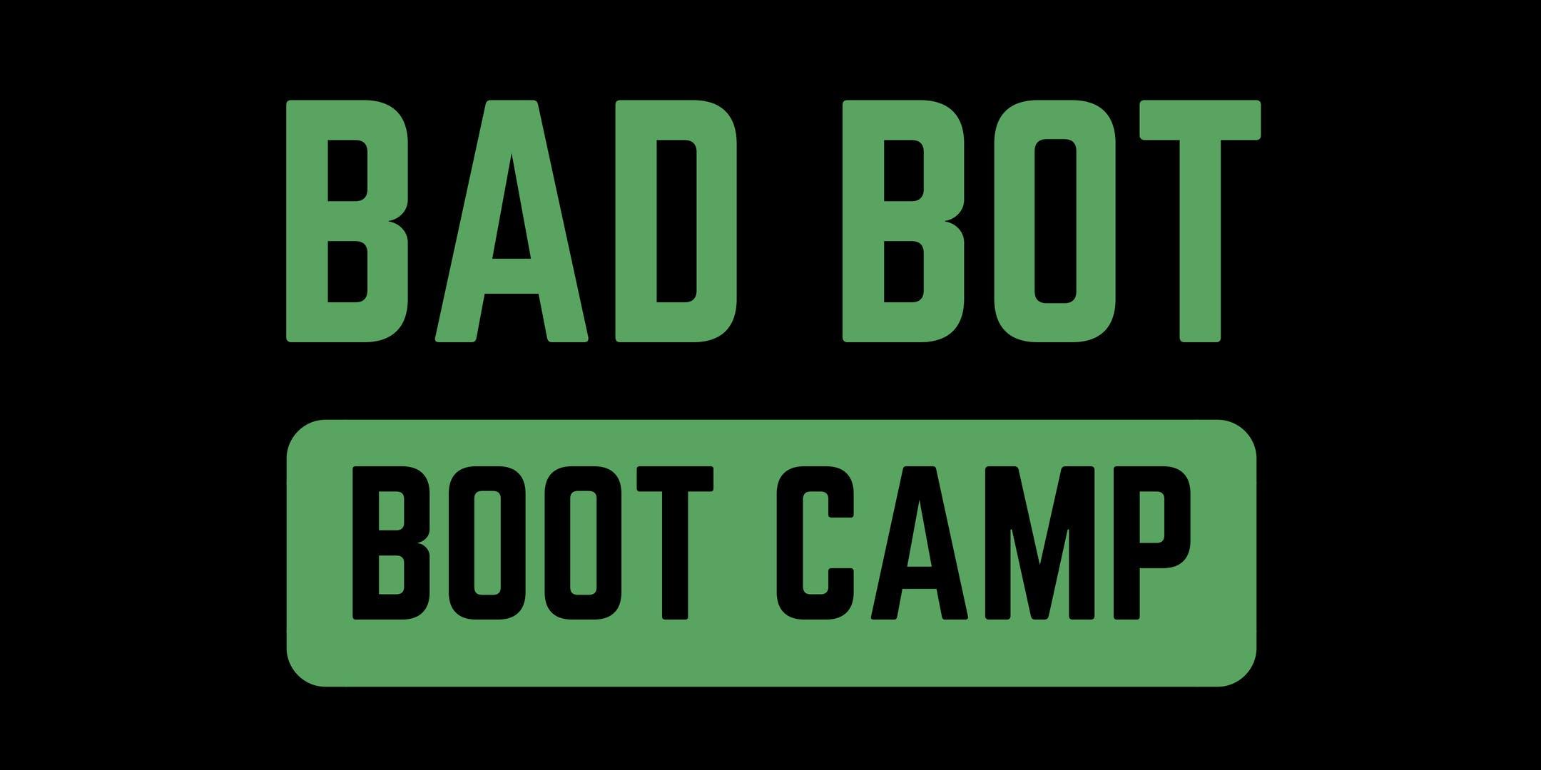 Bad Bot Boot Camp - Amsterdam