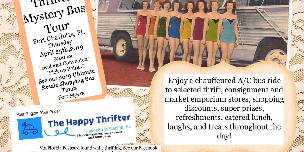 April 25 Mystery Shopping Bus Tour Aka Ultimate Resale Tour Port