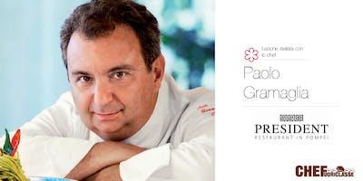 Lezione Stellata CHEFuoriclasse con lo Chef Paolo Gramaglia