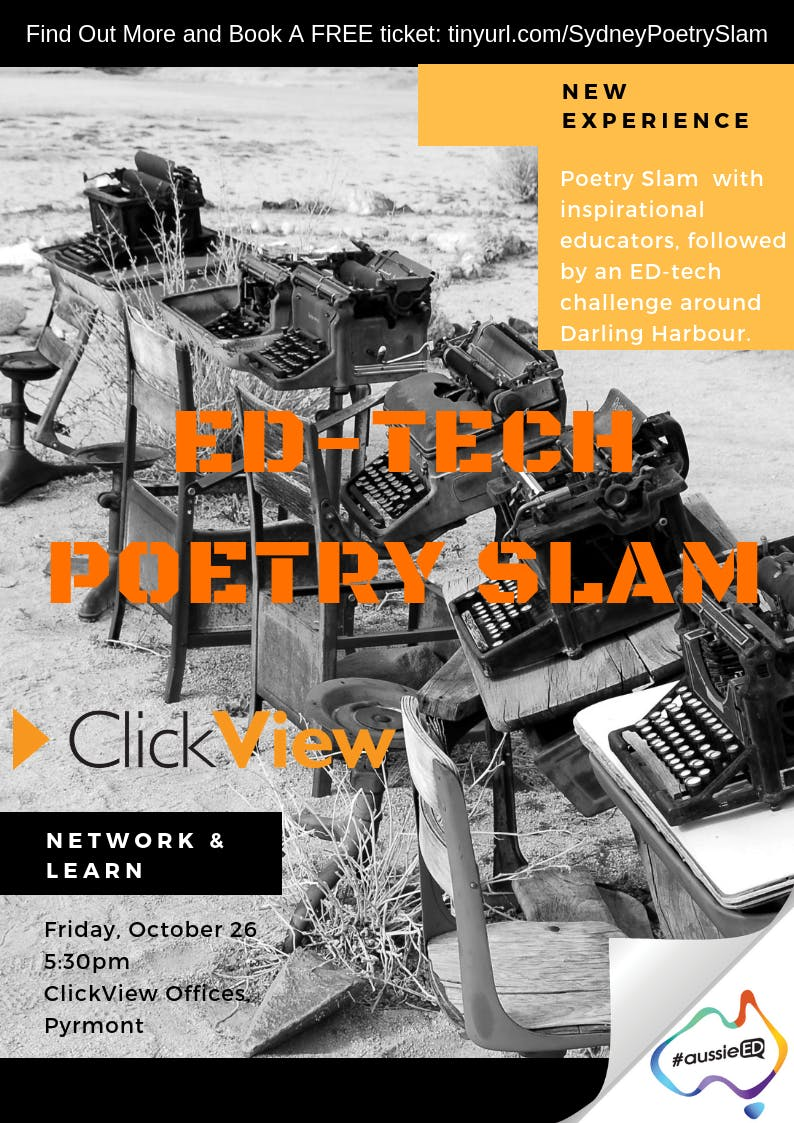 Ed Tech Poetry Slam