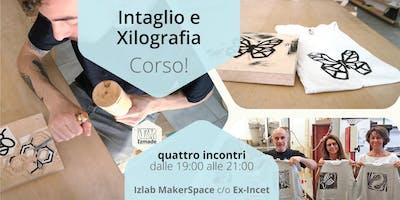 Corso di intaglio del legno e xilografica