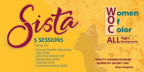 SISTA (SISTERS informing SISTERS on topics about Sexual Health) tickets