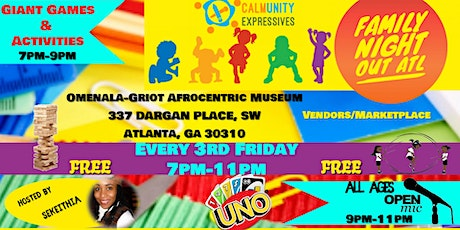 Family Night Out ATL (All Ages Open Mic/ Games/ Activities) tickets