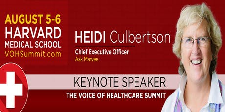 The Voice of Healthcare Summit 2019 tickets