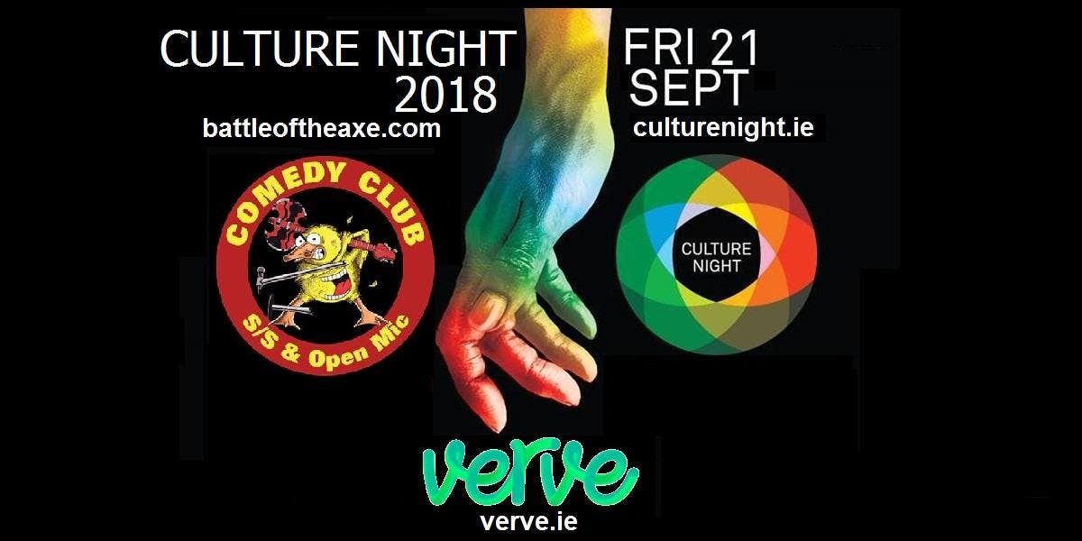 Battle Of The Axe Comedy & Open Mic Culture Night Show