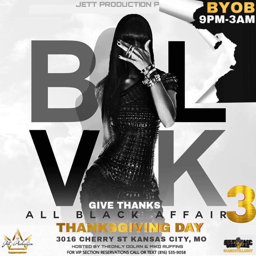 give thanks all black party 3 22 nov 2018