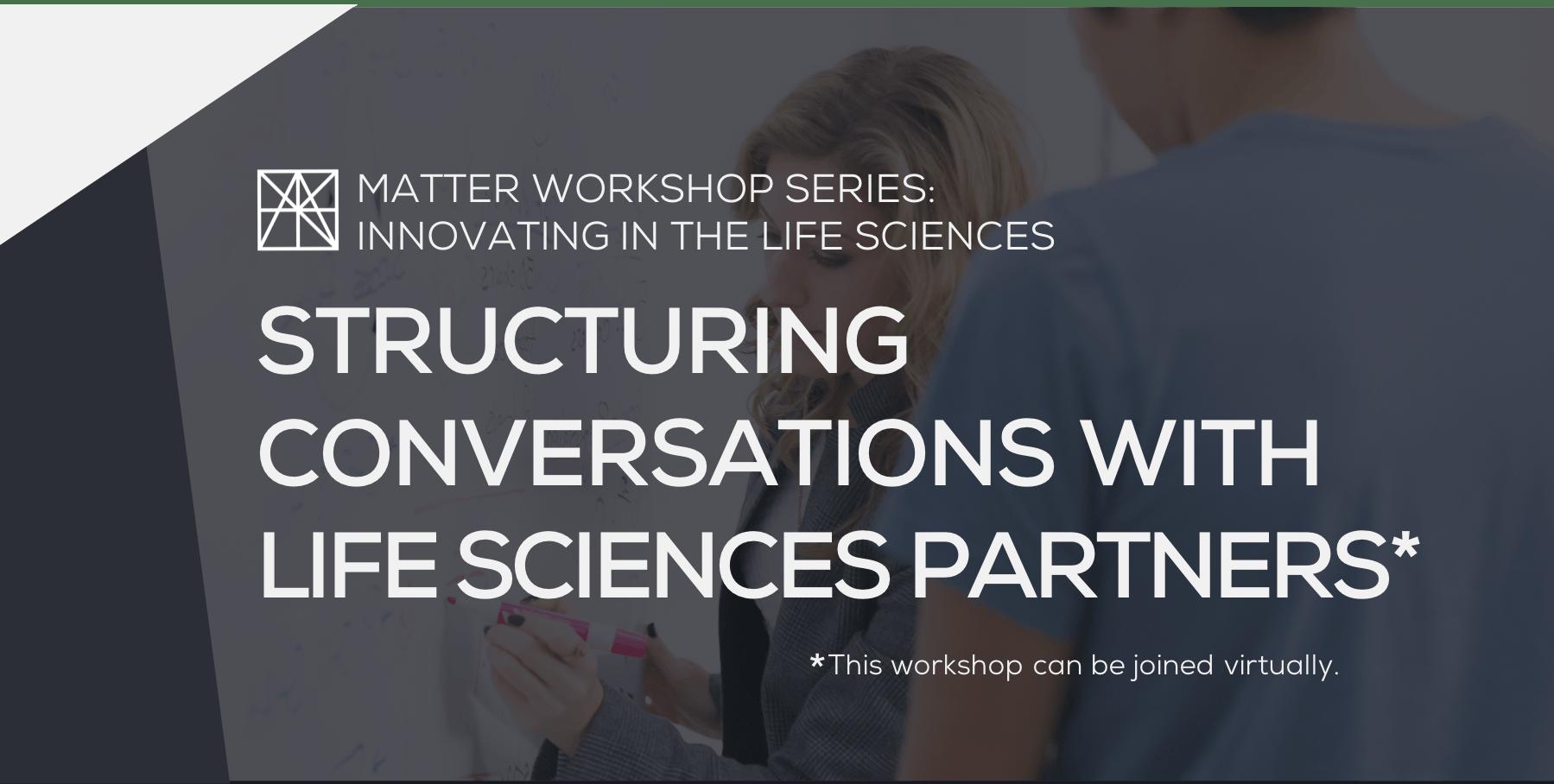 MATTER Workshop: Structuring Conversations wi