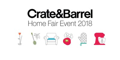 CRATE AND BARREL MEXICO HOME FAIR EVENT 2018