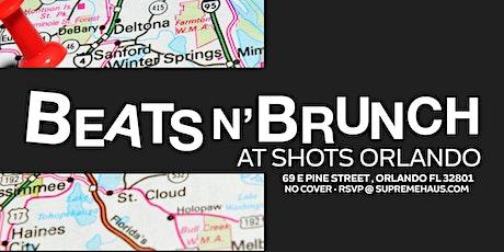 Beats N' Brunch @ SHOTS Orlando tickets