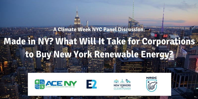 Made in NY? What Will It Take for Corporations to Buy New York Renewable En...