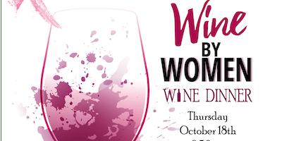 Wine By Women Wine Dinner